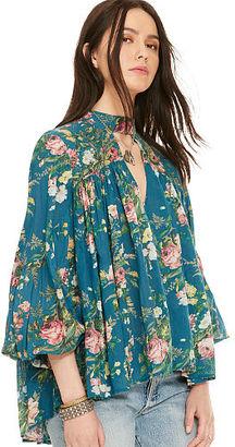 Ralph Lauren Denim & Supply Floral-Print Gauze Blouse $125 thestylecure.com