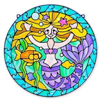 Melissa & Doug 'Stained Glass Made Easy - Mermaid' Peel & Press Sticker Kit