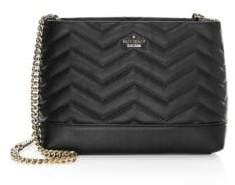 Kate Spade Small Reese Park Lorie Leather Shoulder Bag