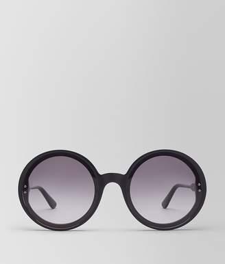 Bottega Veneta Nero Acetate Hoop Sunglasses