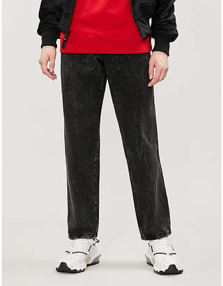 Givenchy Distressed regular-fit straight jeans