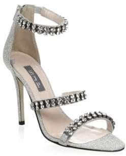 Sarah Jessica Parker Orbit Embellished Stiletto Sandals