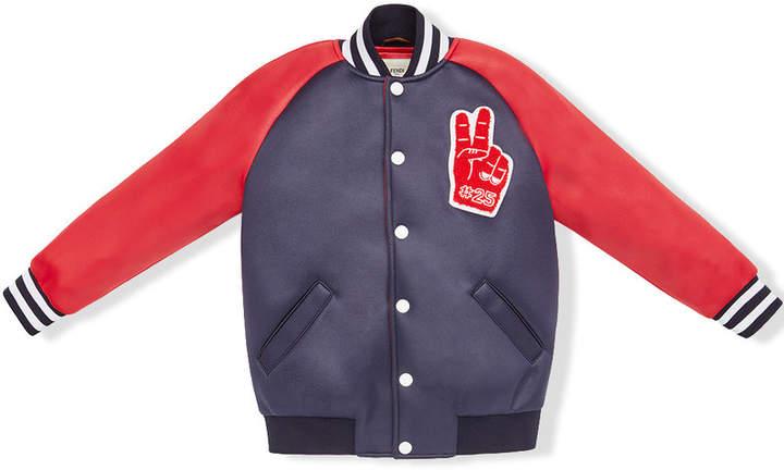 peace patch bomber jacket