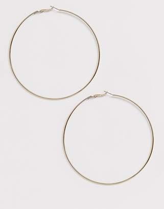 Liars & Lovers extra large fine gold hoop earrings