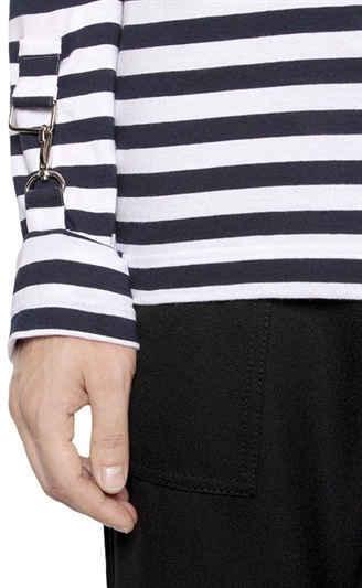 Striped Cotton Jersey T-Shirt 2