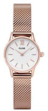 Cluse La Vedette CL50006 Rose Goldtone Mesh Bracelet Analog Watch