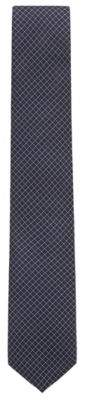 BOSS Hugo Patterned tie in water-repellent silk jacquard One Size pink