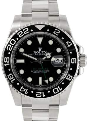 Rolex GMT-Master II 116710 Stainless Steel Black Dial Ceramic Bezel 40mm Mens Watch