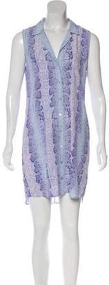 Equipment Sleeveless Mini Dress