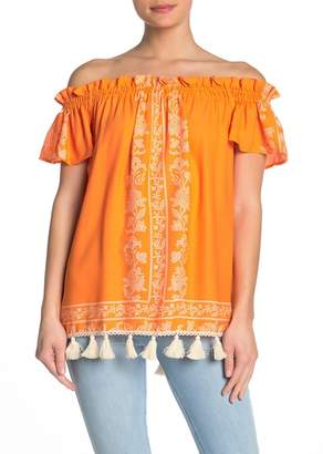 Show Me Your Mumu Woodstock Tassel Tunic