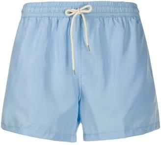 Nos Beachwear plain swim shorts