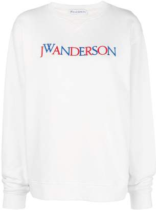 J.W.Anderson embroidered logo sweatshirt