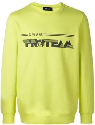 Diesel 'Proteam' sweatshirt