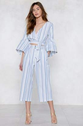 Nasty Gal Tonight Will Be Line Culotte Pants