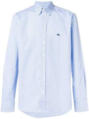 Etro button down collar shirt