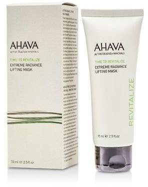 Ahava NEW Time To Revitalize Extreme Radiance Lifting Mask 75ml Womens Skin Care