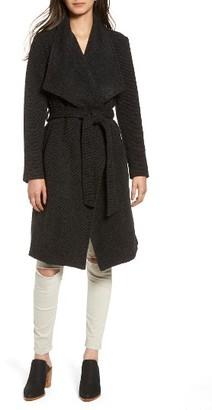 Women's Bb Dakota Issac Ribbed Blanket Coat $158 thestylecure.com