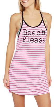 OP Juniors' Graphic Swim Cover-Up Dress