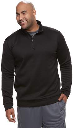 Tek Gear Big & Tall Regular-Fit Performance Fleece Quarter-Zip Pullover