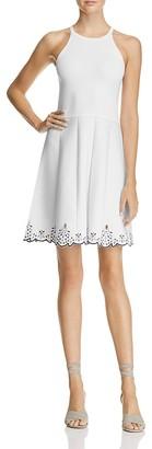 Parker Karmine Embroidered-Hem Dress - 100% Exclusive $365 thestylecure.com