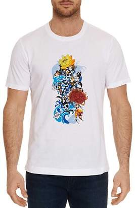 Robert Graham Stop Being Koi Graphic Tee