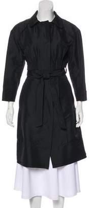 Nina Ricci Lightweight Knee-Length Coat