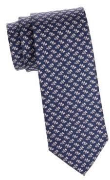 Salvatore Ferragamo Scottie Dogs Silk Tie