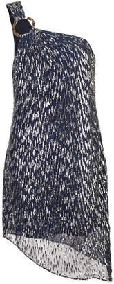 HANEY asymmetric short dress
