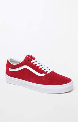 Vans Women's Red Old Skool Sneakers