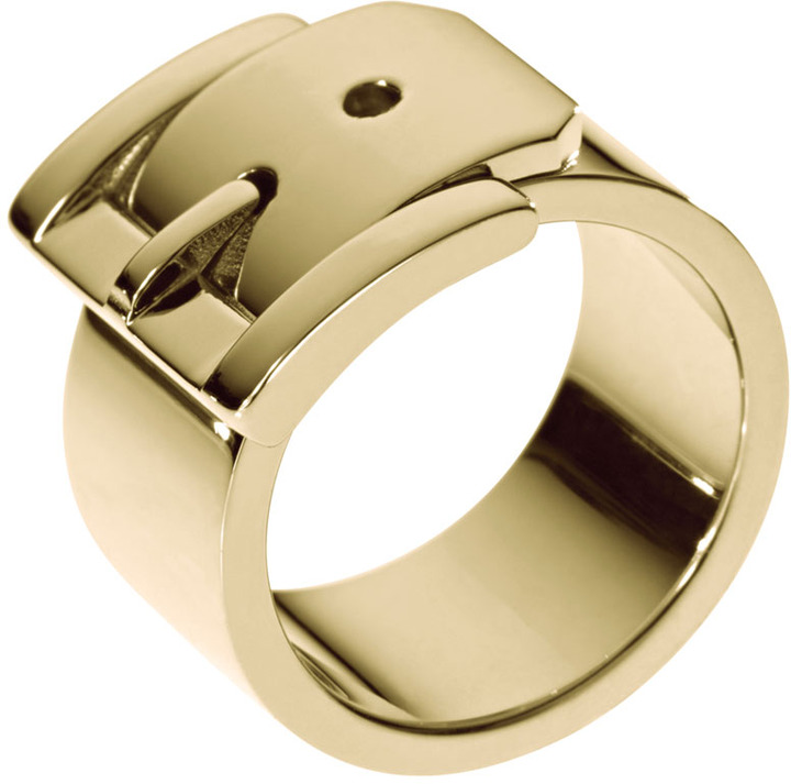 Michael Kors Wide Buckle Ring