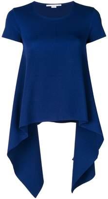 Stella McCartney compact knit handkerchief T-shirt
