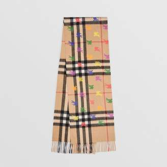Burberry The Classic Check Cashmere Scarf in EKD Print