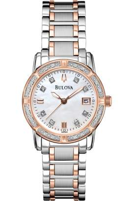 Bulova Ladies Diamond Gallery Highbridge Diamond Watch 98R199