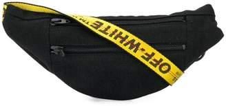 Off-White denim belt bag