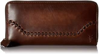 Frye Melissa Whipstitch Zip Wallet Wallet