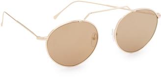 Illesteva Wynwood II Sunglasses $177 thestylecure.com