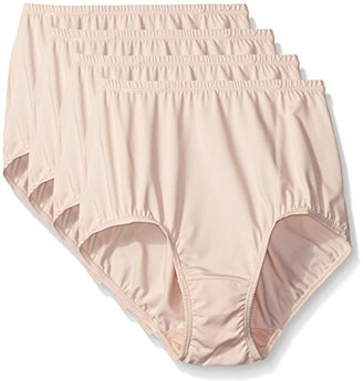 Warner's Women's without a Stitch Brief (Pack of 4) $46 thestylecure.com