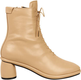BEIGE Reike Nen Lace-Up Boots