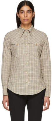 Isabel Marant Multicolor Check Riana Shirt