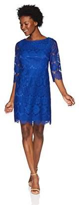 Jessica Howard Women's Petite Lace Shift Dress