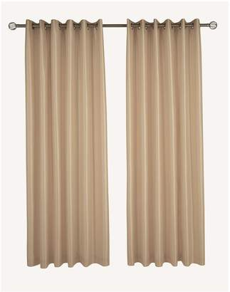 Very Made To Measure Faux Silk Eyelet Up To 340cm W X Up To 137cm D