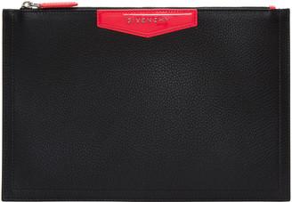 Givenchy Black Antigona Pouch $590 thestylecure.com