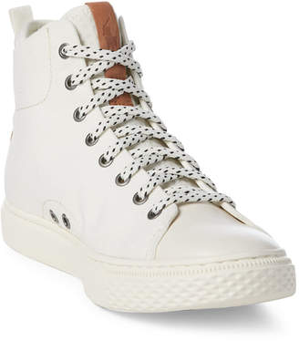 Polo Ralph Lauren Men Dleaney High-Top Sneakers Men Shoes