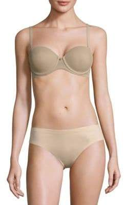 Natori Foundations Streamline Full Figure Contour Strapless Underwire Bra