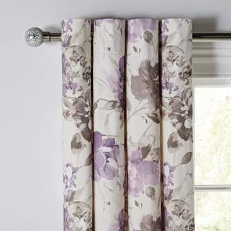 Argos Home Peony Lined Curtains 117x137cm