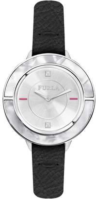 Furla Club Leather Strap Watch, 34mm