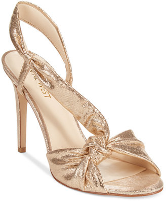 Nine West Ultana Dress Sandals $89 thestylecure.com