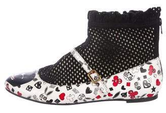 Marc by Marc Jacobs Knit Ankle Booties