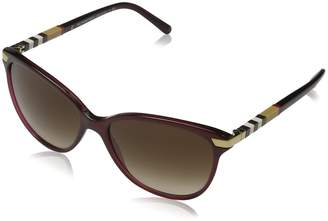 Burberry Women's Gradient BE4216-301413-57 Butterfly Sunglasses