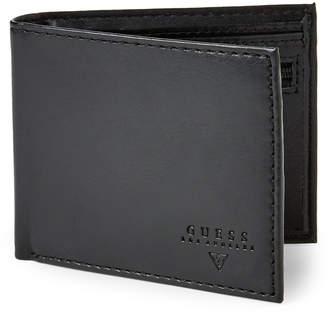 GUESS Black Billfold Wallet